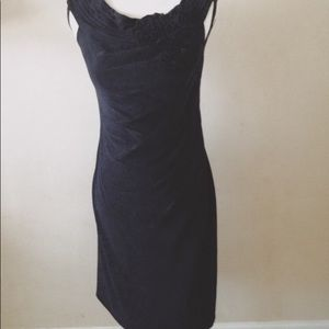 Adrianna Papell formal black dress size 4